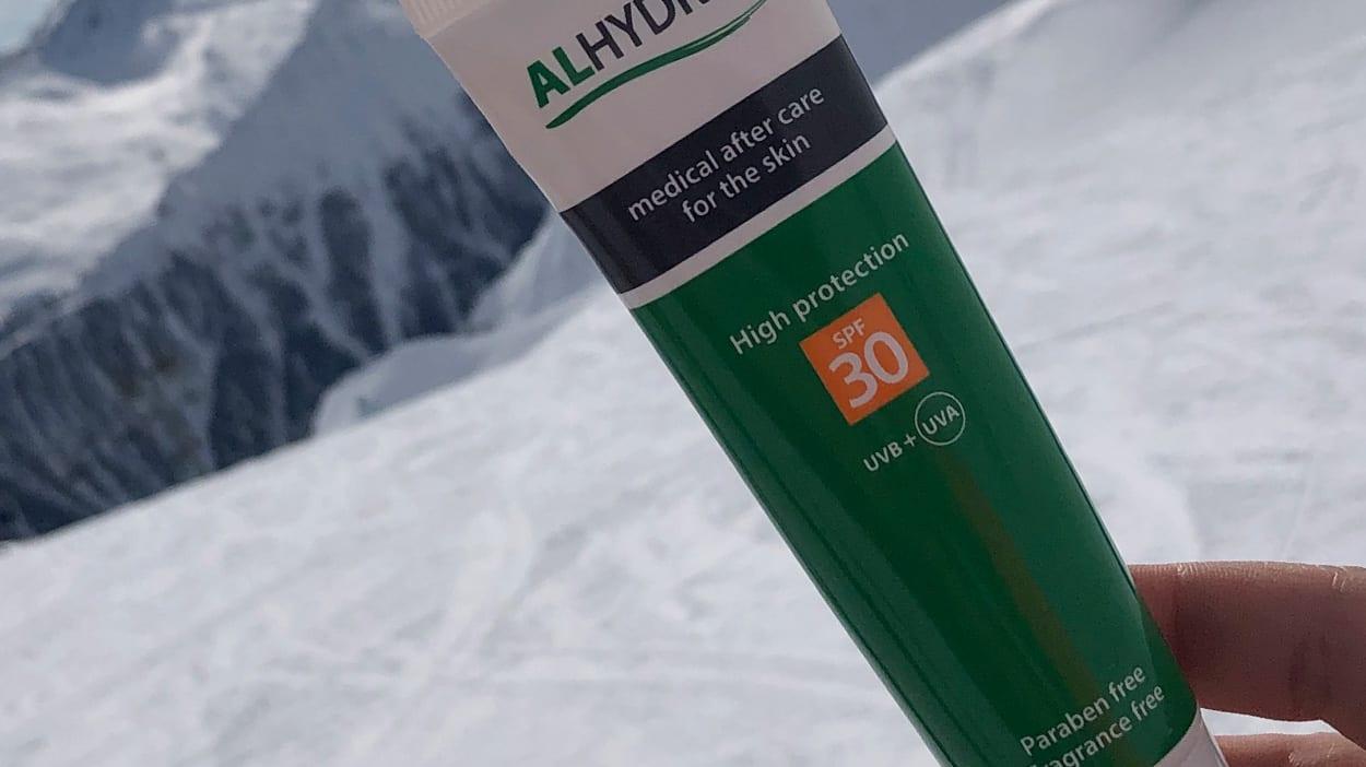 Zonnebrandcrème op wintersport voor de gevoelige huid