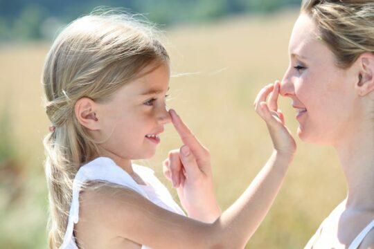 Zonbescherming voor gevoelige huid